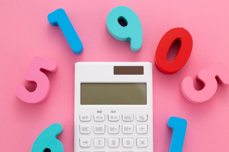 預金金利と外貨両替手数料を計算する計算機のイメージ