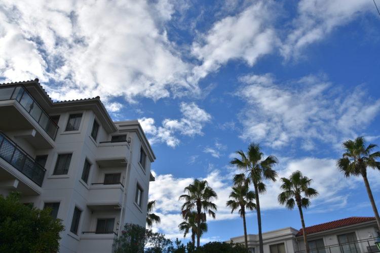 リゾートマンションの風景