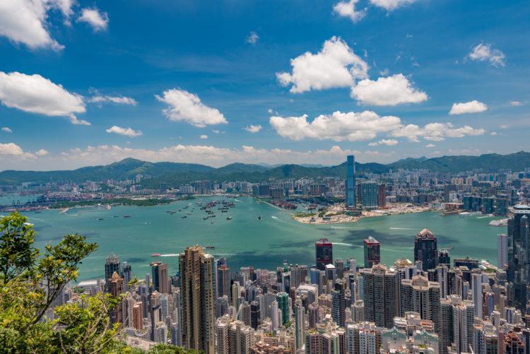 中国の国際都市香港