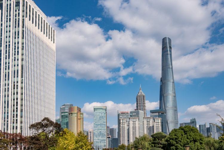 中国の金融都市上海
