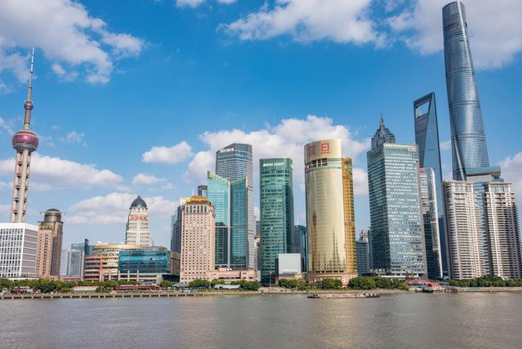 発展する中国の都市