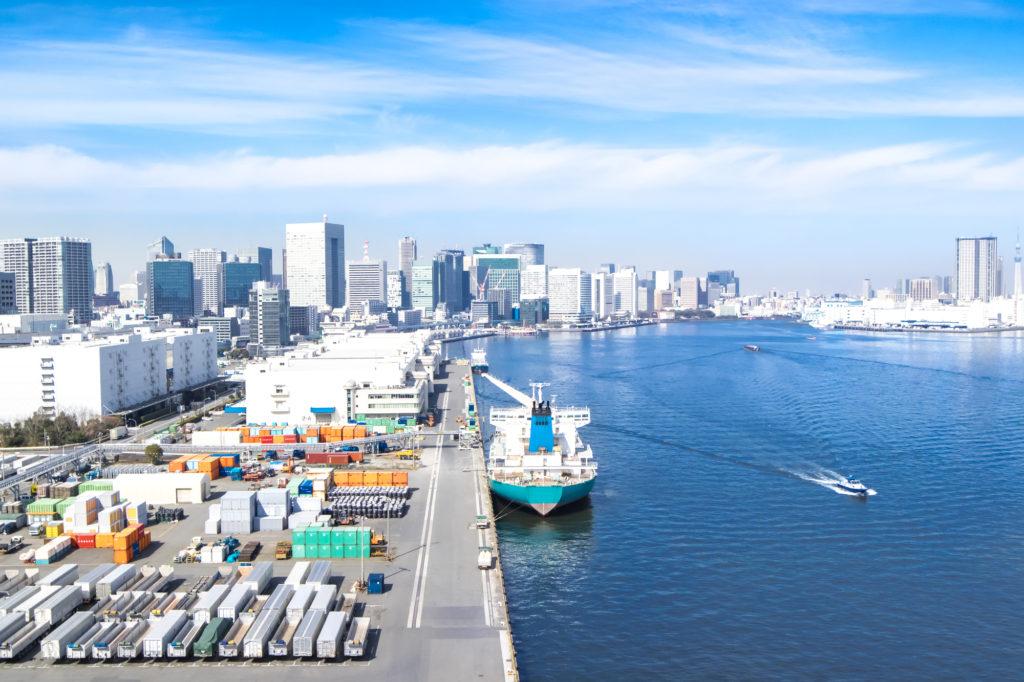 中国の貿易港