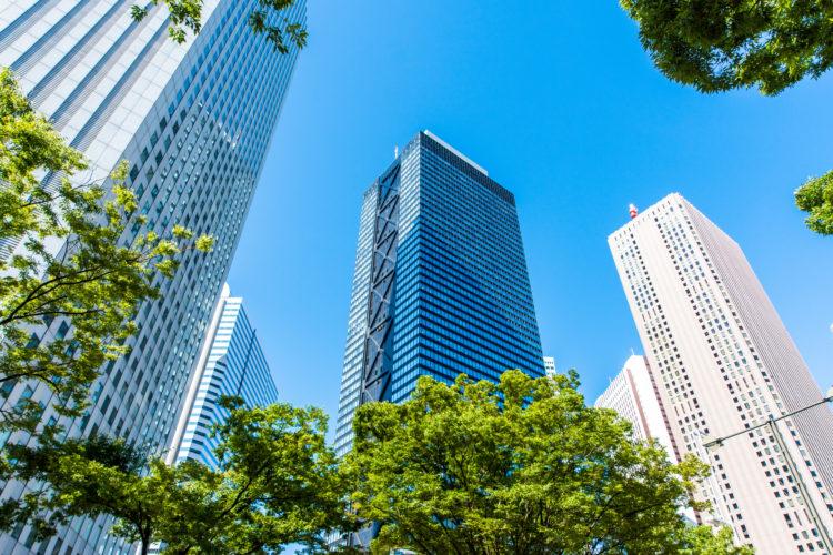 ビジネス街に円高が与える影響