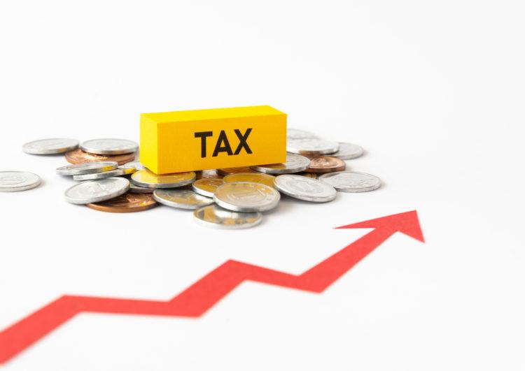 上がっていく消費税