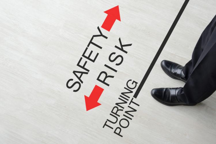 安全をとるか、リスクをとるか