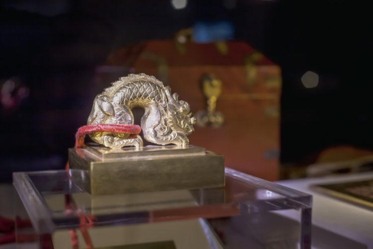 古代中華王朝から周辺国に贈られた金印