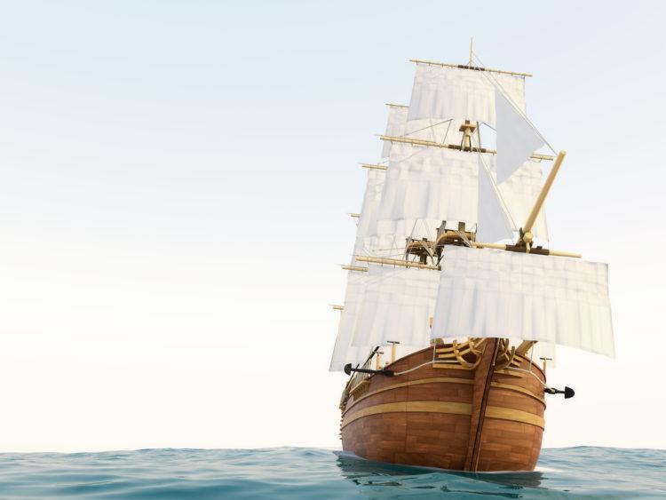 中世ヨーロッパの探検家たちは黄金を求めてアメリカ新大陸へ航海した