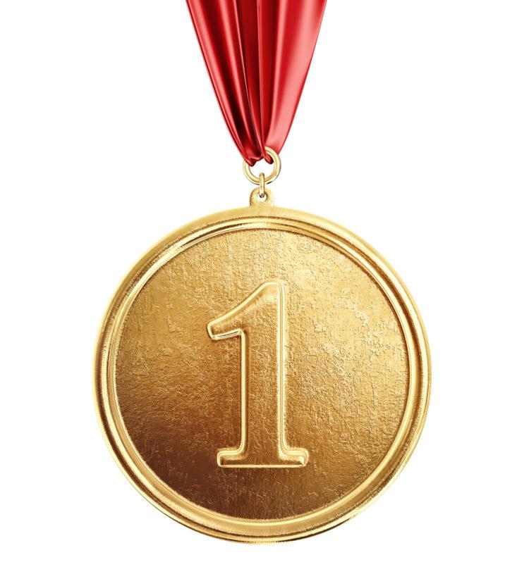 貴重な金属「金」でつくられたメダル