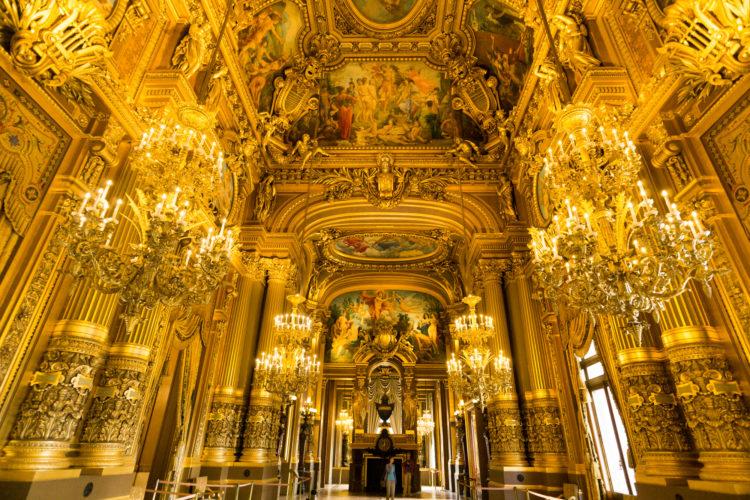 金で装飾されたヨーロッパの宮殿