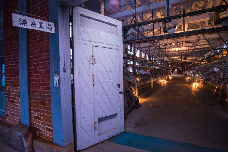 日本の製糸産業をリードした富岡製糸場
