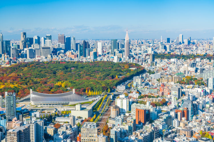 アメリカとの同盟関係によって世界トップクラスの経済大国になった日本の首都東京